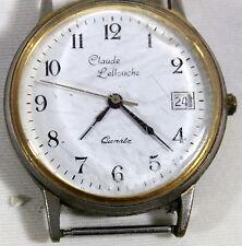 MONTRE BRACELET Marque «  Claude LELOUCH » Diamètre environ 3.4 cm