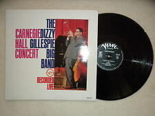 "LP DIZZY GILLESPIE BIG BAND ""Carnegie Hall Concert Recorded Live"" 2304 429 FR §"