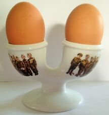DAD'S ARMY Clive Dunn, Arthur Lowe DOUBLE EGGCUP  EGG CUP