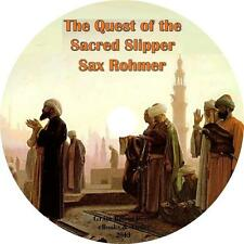 The Quest of the Sacred Slipper, Sax Rohmer Mystery Audiobook on 1 MP3 CD