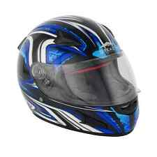 Stealth Daisho Blue Full Face Motorcycle Helmet with Interior Visor size SMALL