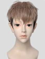 Jean Kirstein Attack on Titan Short Blonde Black Anime Cosplay Wig +wigs cap