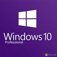 Microsoft Windows 10 Pro Full Retail Version, Full Online Support PC Key Card