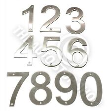 Stainless Steel House Numbers - No 25 - SCREW on House / Door / Building 10cm