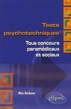 Tests psychotechniques Bredonse  Marc Occasion Livre