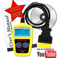 Renault Clio OBDII Fault Code Reader Reset Tool Universal Diagnotic OBD2 Scan