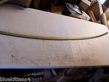 1986 PARISIENNE CHEVY CAPRICE ESTATE WAGON HOOD EDGE TRIM MOLDING USED 1990