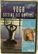 Yoga Sitting Fit Anytime workout exercise fitness DVD sitting in a chair health
