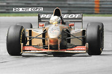 9x6 Photograph, Martin Brundle  Jordan-Peugeot 196 , Canadian GP Montreal 1996