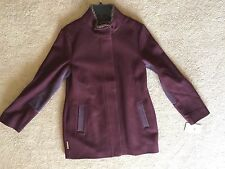 UGG Australia Shelley Long Winter Coat Size Small S Maroon Red UA5446W NWT $295
