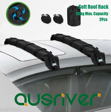 2Pcs Pack Universal Inflatable Soft Roof Racks Bars Kayak Surfboard Carrier 80kg