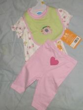 NEW BON BEBE OUTFIT INFANT GIRLS 3-6 MONTHS -  ELEPHANTS    : ]