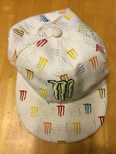 """Monster Energy Athlete Hat - Fitted Cap Size 7 1/2"""" - Rare"""