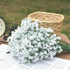 Artificial Fake Silk Gypsophila Baby's Breath Flower Plant Home Wedding Decor WB