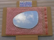 850L Replacement Mirror Glass for 010-13 Mazda2 Mazda3 Driver Side View Left LH