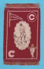 1910 Murad tobacco felt B33 UNIVERSITY OF CHICAGO Hockey Player  TOUGH