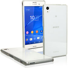 Transparent PC Hard Case Cover Shell Skin for Sony Xperia M4 Aqua + Screen Prot