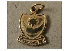 Good Vintage 9ct Solid Gold PORTSMOUTH FOOTBALL CLUB CHARM / Pendant. c1980