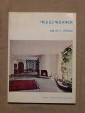 Neues Wohnen mit alten Möbeln, Koller, Bruckmann München 1960, Innenarchitektur