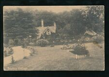 Somerset BROCKLEY Cottage and garden Used 1913 PPC