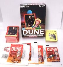 1984 DUNE Movie Fleer Trading Card Master Set- Cards/Stickers/Wrapper/Box/Pack