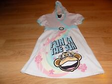 Size Large 10-12 Short Sleeve Hooded Bobby Jack Shirt Top Fun In the Sun New