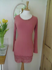 AVOCA ANTHOLOGY STRETCHY LACE DRESS TUNIC SIZE 2