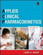 Applied Clinical Pharmacokinetics 3/E, Bauer, Larry
