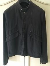 Maison MARTIN MARGIELA Uomo Casual giacca cappotto EU 48 ANTRACITE MADE IN ITALY