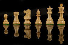 WOOD CHESS SET Hand Crafted Staunton Pieces SILCONE BOARD GAME GIFTS