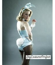 FREE SHIP Satin Playboy Bunny outfit COMPLETE Ears Tail ECT.. Cosplay Costume