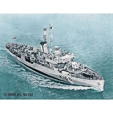 Revell 1/144 Flower Class Corvette HMCS Snowberry Plastic Model Kit 05132