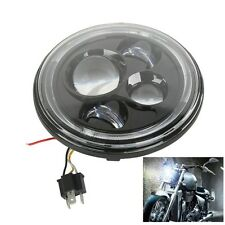 7'' Projector Daymaker HID LED White Halo Headlight For Harley Davidson Hummer