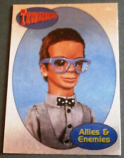 THUNDERBIRDS ALLIES AND ENEMIES F11 - BRAINS - Cards Inc. FOIL CHASE CARD