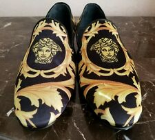 NEW VERSACE LOAFERS SIZE 40 / 7.5 US