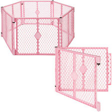 Big 8 Panel Wide Super Playpen Play Yard Baby Pet Dog Enclosure Gate Large Pen