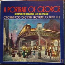 Erich Kunzel Cincinnati Pops Orchestra A Portrait Of George LP 1979 TV 34749 VG+