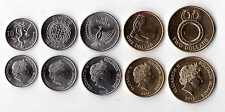 SOLOMON ISLANDS - NEW ISSUE 5 DIF UNC COINS SET: 10 CENTS - 2$ 2012 YEAR