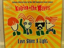 Eurovision UNITED KINGDOM 1997 Katrina & The Waves Love Shine A Light CD 2 DANCE