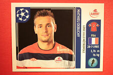 PANINI CHAMPIONS LEAGUE 2011/12 N 113 DEBUCHY LILLE WITH BLACK BACK MINT!!