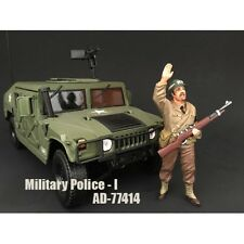 WWII MILITARY POLICE FIGURE I FOR 1:18 SCALE MODELS BY AMERICAN DIORAMA 77414