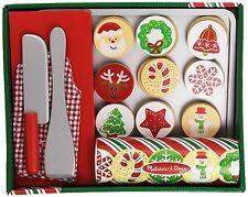 Melissa Doug Slice Bake Christmas Cookie Play Set