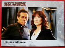 Battlestar galactica-premiere edition-carte #66 - fragile alliance
