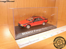 RENAULT FUEGO TURBO RED 1:43 1983 MINT!!!