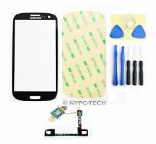 Black Glass Screen &Touch Cable for Samsung Galaxy S/3 SGH-I747 SPH-L710T +Tools