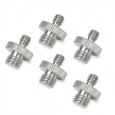 """5X 1/4"""" Male Threaded To 3/8"""" Male Threaded Double Male Screw Adapter UK Seller"""