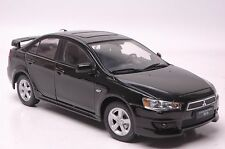 Mitsubishi Lancer Evo9 car model in scale 1:18 black
