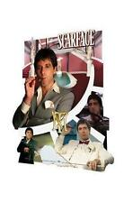 SCARFACE / TONY MONTANA - 3D POSTER / HOLOGRAM / LENTICULAR POSTER - 66x46cm