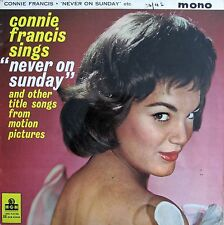 "Connie Francis - Sings ""Never On Sunday"" (12"" vinyl, vgc, 1961, MGMC875 Mono)"