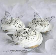 12 Romantic Butterflies for cakes, decorations, and crafts